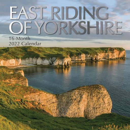 Square Glossy 16 Month Wall Calendar East Riding Of Yorkshire 2022